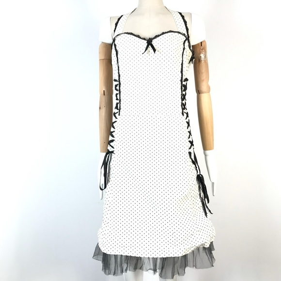 Vexy Steampunk gothic sleeveless dress laces tulle